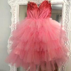 PINK TUTU Ballerina Bustier PARTY Dress